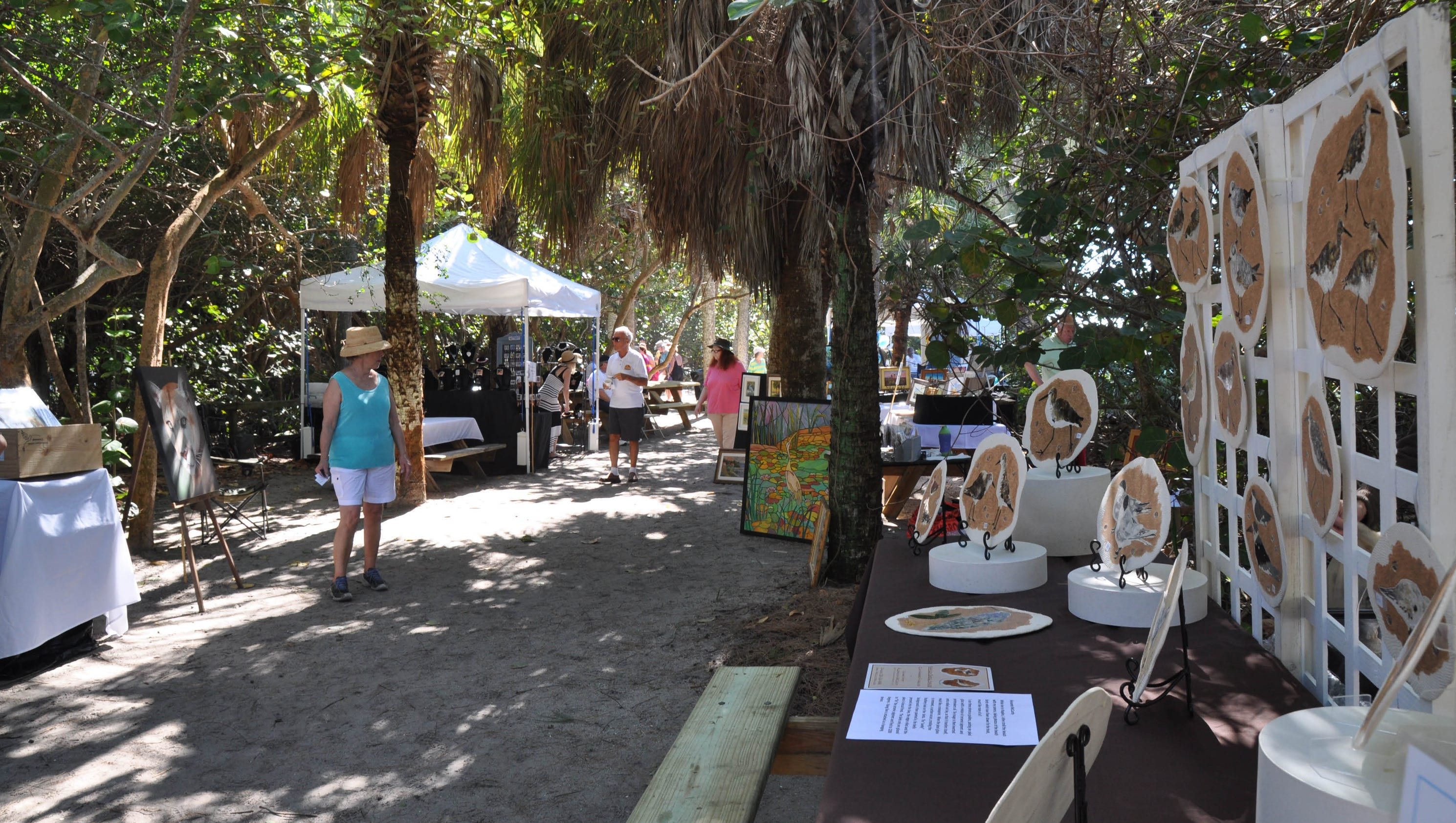 18th annual wildlife wildlands art show by friends of for Craft fair fort myers