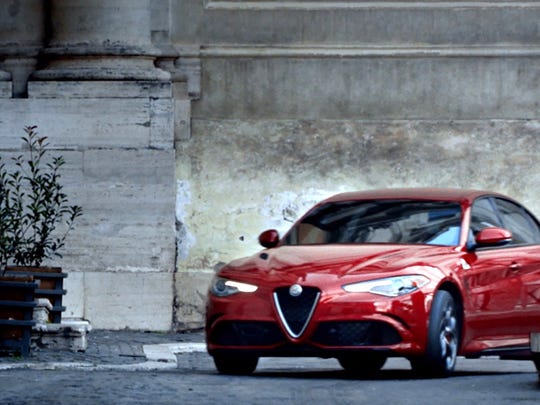 """The Alfa Romeo brand aired three commercials during the Super Bowl on Feb. 5, 2017. This one is titled """"Mozzafiato"""" and it was created in partnership with Doner."""