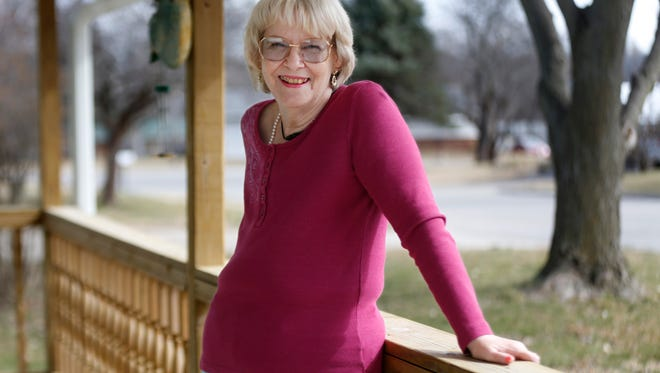 LaVonne Ritter had a double mastectomy after being diagnosed with breast cancer.