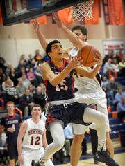 Lebanon senior Matty Lopez will be called upon to help lead the Cedars Saturday in their first-round matchup against Lancaster Mennonite in the L-L boys basketball tournament.