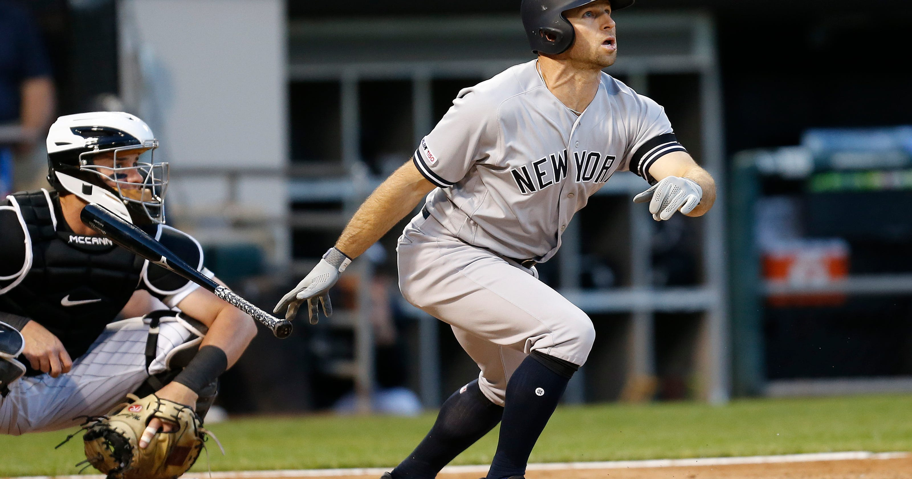huge discount b11cd 5bd34 No easy feat: New York Yankee have homered in 16 consecutive ...