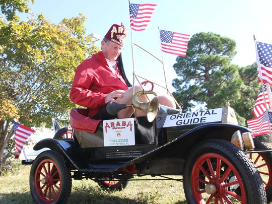 Stan Peters will make an appearance at the Edison Festival of Light Parade in his minature Tin Lizzie.