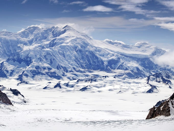 Canada's Yukon region has mountain peaks that have never been climbed before.