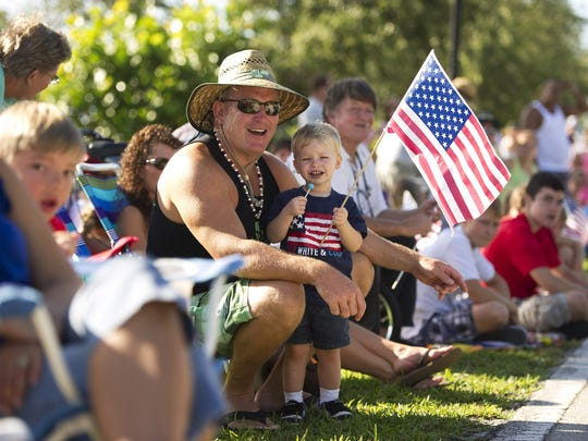 There will be a parade, food, crafts, live entertainment, fireworks and more during the festival from 8 a.m. to 9 p.m. Tuesday at Riverview Park in Sebastian.