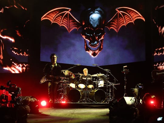 Avenged Sevenfold Wednesday, January 24, 2018 at the