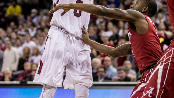 NCAA Basketball: Alabama at South Carolina