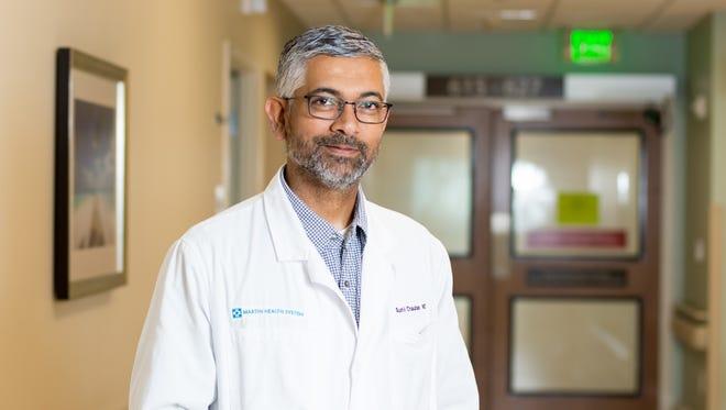 Sunil Chauhan, MD, Martin Health Physician Group Neurologist