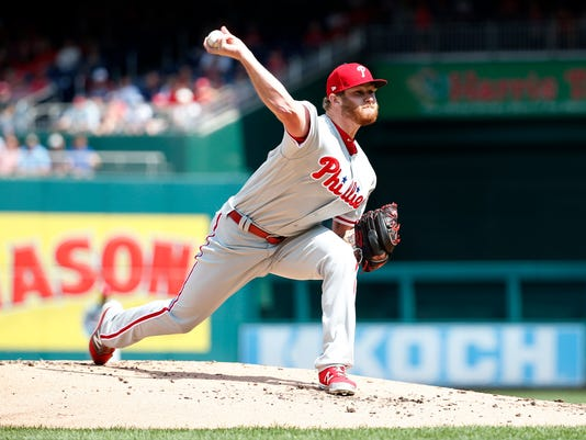MLB: Philadelphia Phillies at Washington Nationals