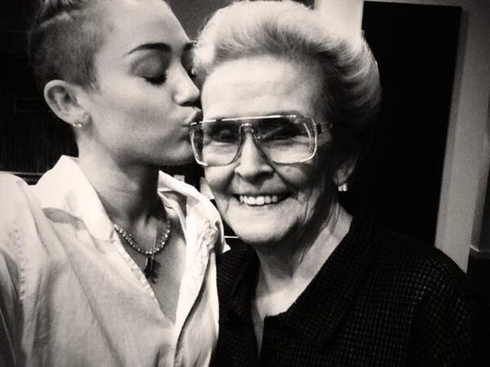 Miley grandma