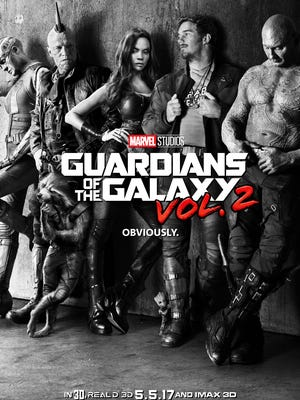 'Guardians of the Galaxy Vol. 2' poster.
