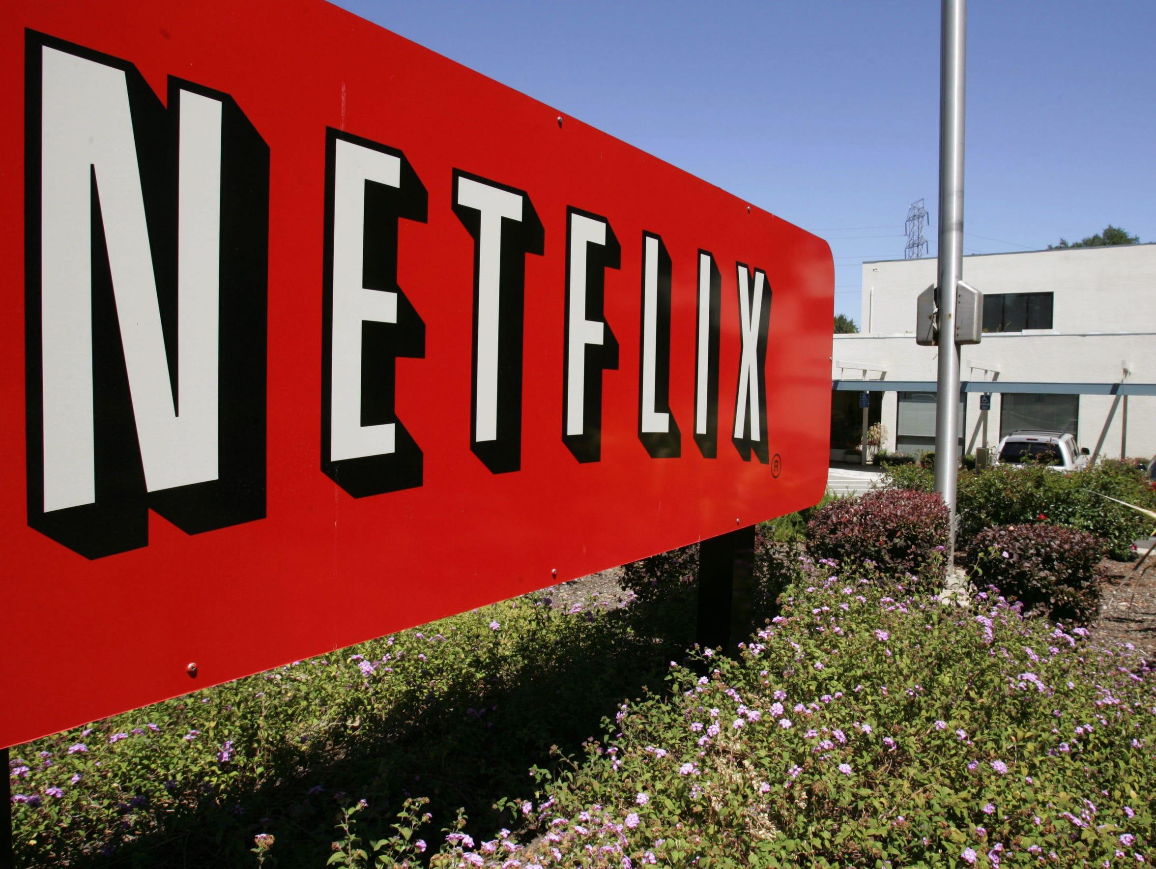 Netflix headquarters in Los Gatos, California.