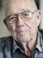 Jim Geiger, 93, was a bomber pilot during the Battle of Bulge during Christmas 1944.