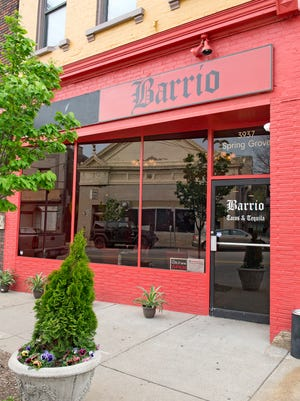 The exterior of Barrio in Northside.