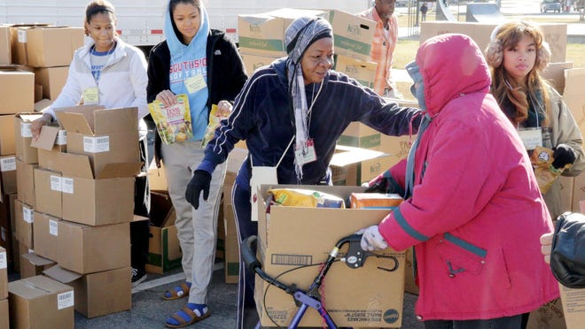 Antioch for Youth & Family will hold its annual Antioch in the Park Thanksgiving meal distribution 10 a.m. to 1 p.m. Tuesday, Nov. 24, at Kay Rodgers Park, 4400 Midland Blvd., in Fort Smith.