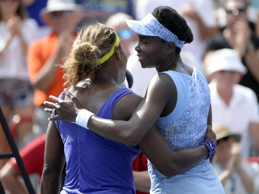 Tennis: Rogers Cup-Williams vs Williams