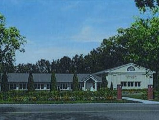 Artists rendering of the Talmudic boarding school proposed