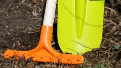 Garden tools should be cleaned each spring.