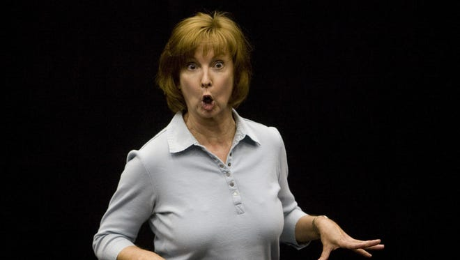 "Longtime Valley actor Cathy Dresbach, shown in a 2008 photo, tries her hand at playwriting with the comedy ""3 No Trump."""