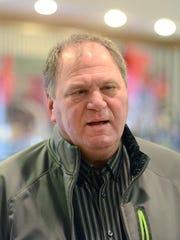 Mark Beerntsen, owner of Beerntsen's Candies, 200 N. Broadway.