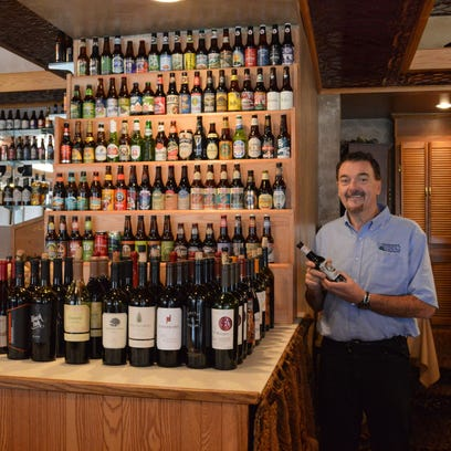 Pat Flanagan in his Flanagan's Craft Beer & Wine Bar