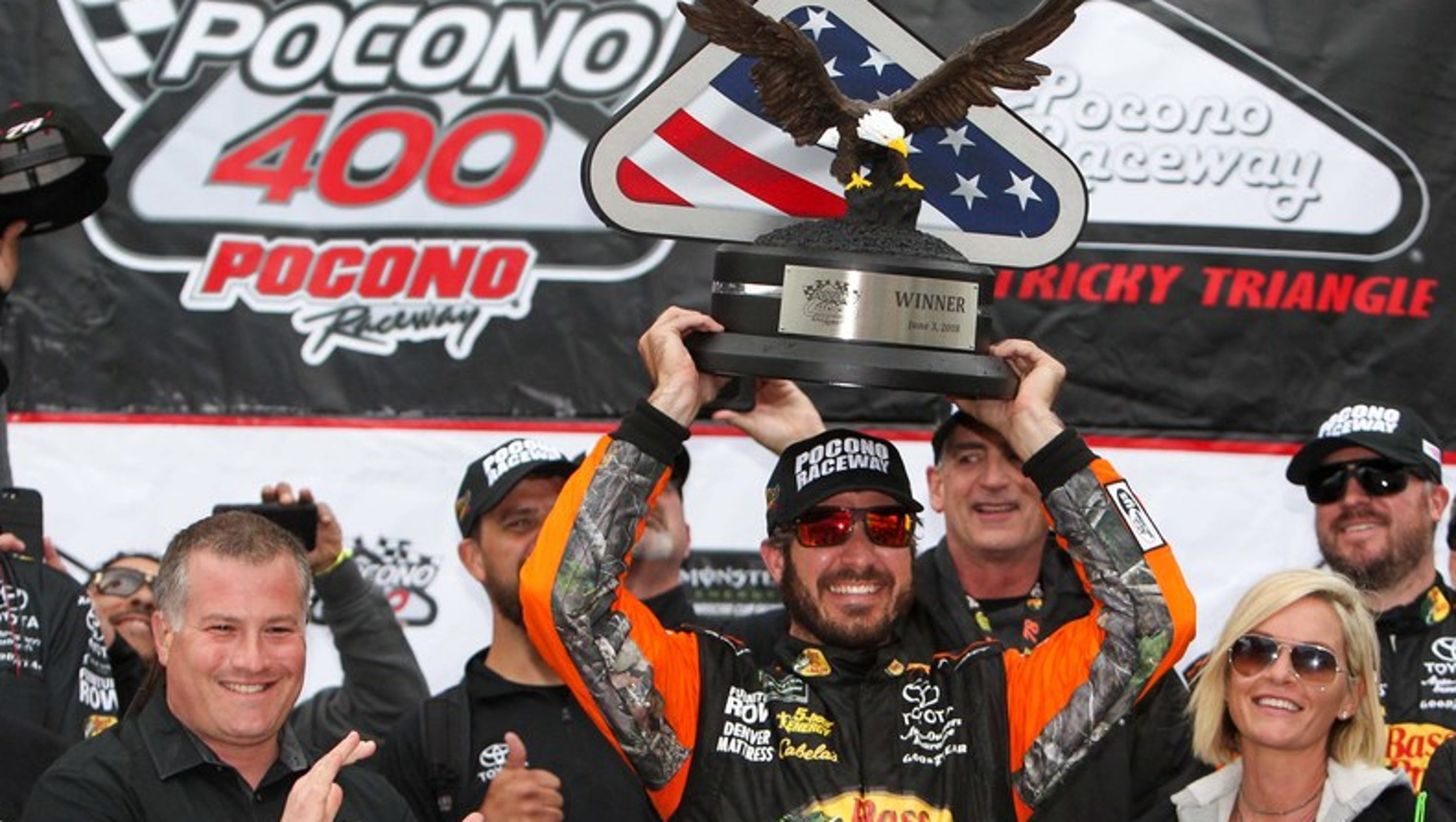 The Monster Energy NASCAR Cup Series and the NASCAR Camping World Truck Series will both be in action at Pocono Raceway this week and the NASCAR Xfinity Series will be at Iowa Speedway.