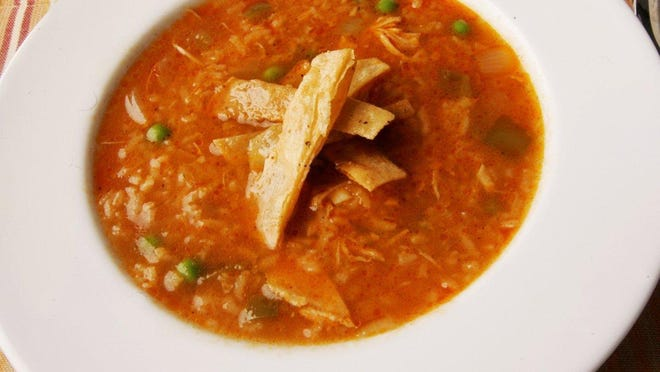 Use shredded turkey in the Enchilada Soup with Rice.