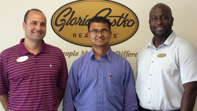 Mike Favale, Jay Maniyil and Phil Green are the winners in the Gloria Zastko Lucky Lottery Contest to help jump start the spring market.