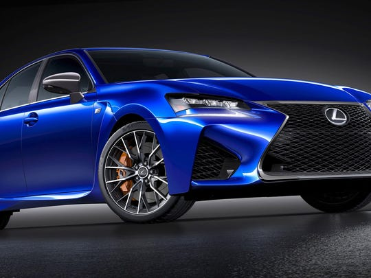 2016 Lexus GS F will be revealed at the 2015 North American International Auto Show at Cobo Center in Detroit. Picture received Jan. 6, 2015 from Lexus