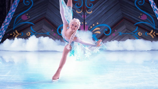'Disney on Ice: Frozen' will be at Bankers Life Fieldhouse Thursday, Sept. 3, through Monday, Sept. 7.