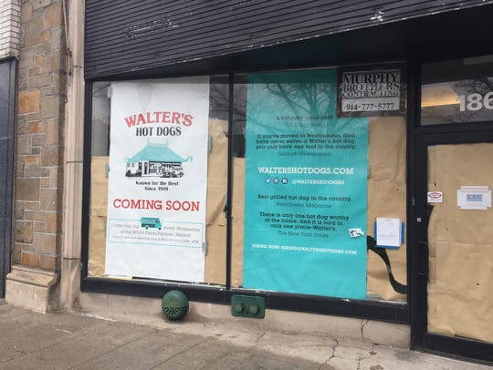 Walter's Hot Dogs on Mamaroneck Avenue in White Plains has been under construction for more than a year.
