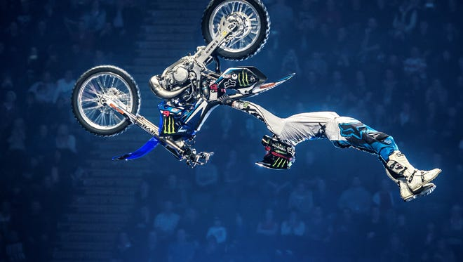 Reno's Adam Jones will be in the Nitro Circus  on May 5-6 at Greater Nevada Field.