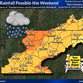 Nearly 3 inches of rainfall forecast for Knox area this weekend; flood watch issued