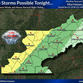 Forecast: Thunderstorms could bring hail, damaging winds Tuesday night