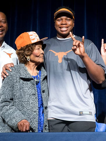 Jeffrey McCulloch was a key piece of Texas' recruiting