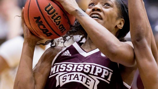 Mississippi State guard Victoria Vivians scored 17 points her team's win against Arkansas Little Rock.