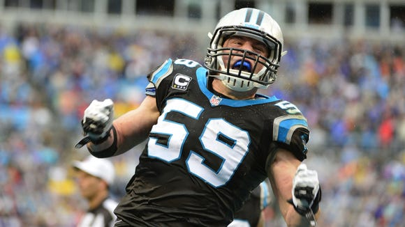 Carolina Panthers middle linebacker Luke Kuechly, a St. Xavier High School grad, completed his college degree online in the offseason.