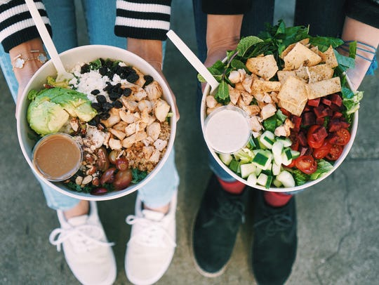 Sweetgreen specializes in salads, and offers many vegetarian