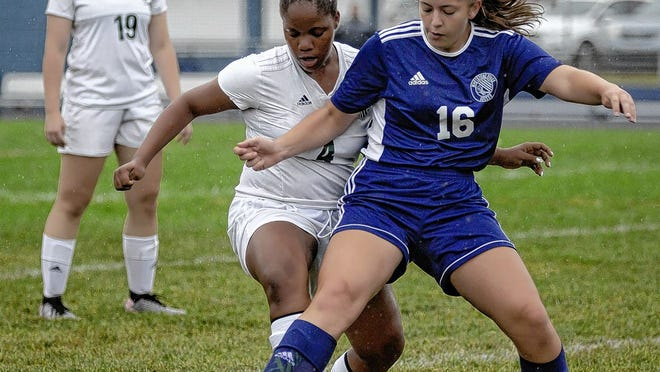 Nezzie O'Malley, a junior midfielder, is among the top returnees for the Whetstone girls soccer team and coach Doug Kohler.