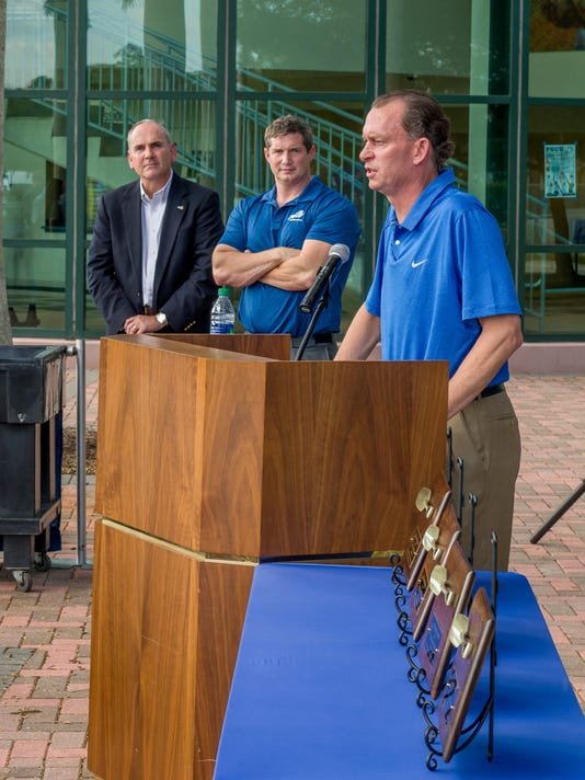 FGCU Alico Arena expansion project groundbreaking