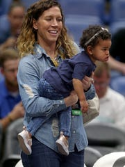 Lauren Holiday, wife of New Orleans Pelicans guard
