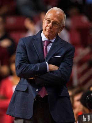 Larry Brown guided SMU to the NIT title game this season, where it lost to Minnesota.