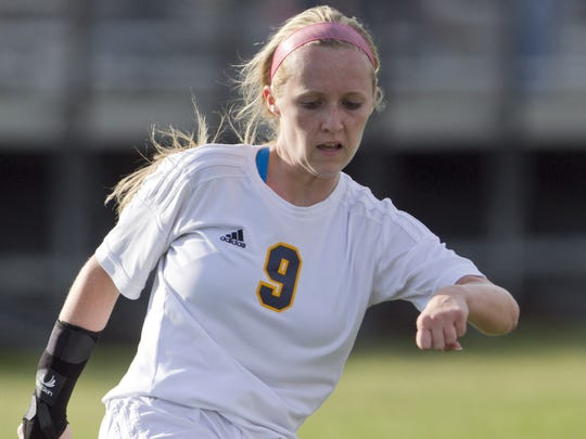Hartland's Kennady Kuhlman has scored 8 goals each