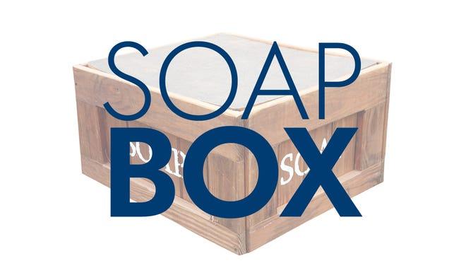 Soap box graphic