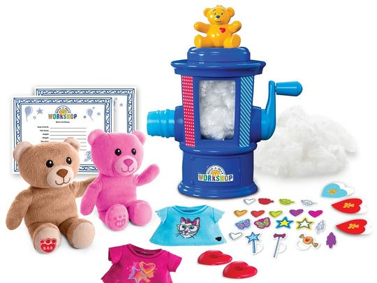 Build-a-Bear Workshop Stuffing Station has everything you need to make two Build-a-Bear toys right from your own home.