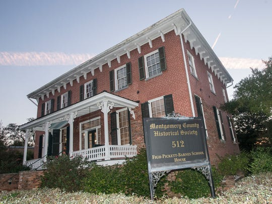 The Montgomery County Historic Society is based in the Figh-Pickett Barnes School House at 512 S. Court St.