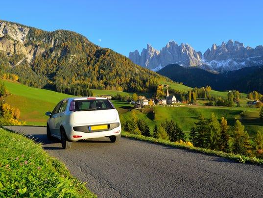 Dolomites road trip