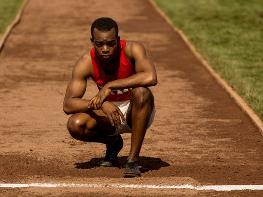 Jesse Owens (Stephan James) eyes the approach for a