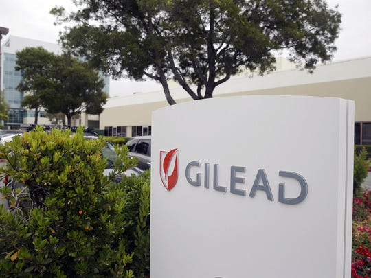 This July 9, 2015, file photo shows the headquarters of Gilead Sciences in Foster City, Calif. After Gilead acquired the developer of Sovaldi, the the price of the medication increased significantly.