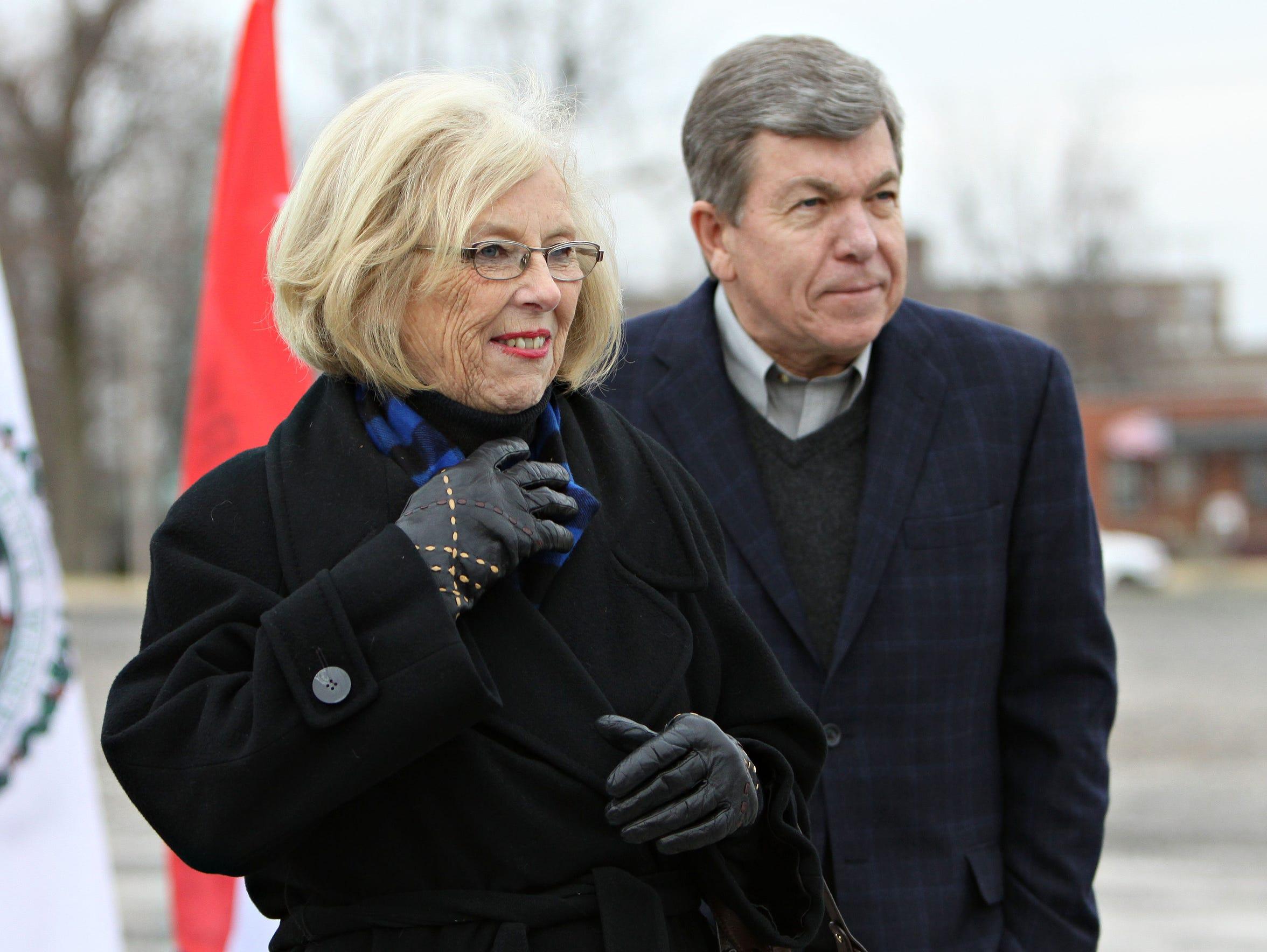 Greene County Commissioner Roseann Bentley and Senator