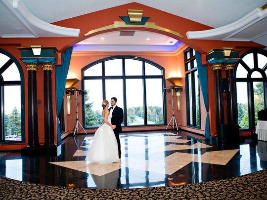 The Bella Vista Ballroom At Casa Larga Vineyards
